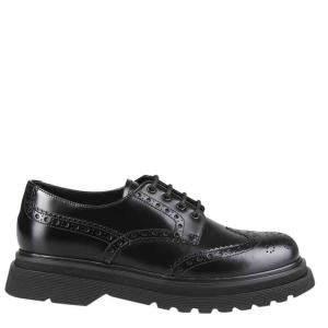 حذاء ديربي برادا مزين جلد أسود مقاس أوروبي 44 مقاس أنغليزي 10