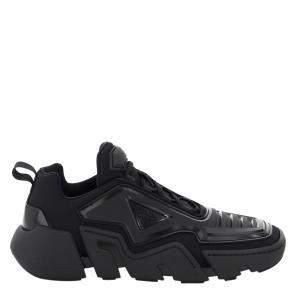 Prada Black Technical Fabric Sneaker Size UK 8 EU 42