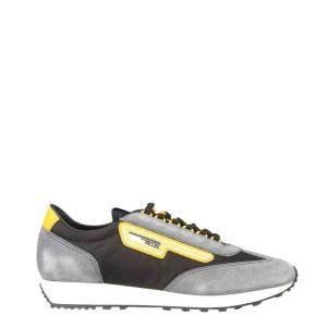 Prada Multicolor Suede and Nylon Sneakers Size EU 42 UK 8