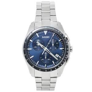 ساعة يد رجالية هيبركروم أر32259203 كرونو ستانلس ستيل زرقاء 44 مم