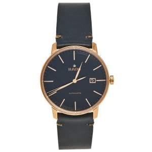 ساعة يد رجالية رادو كوبيه R22877165  جلد ستانلس ستيل مطلي ذهب وردي 41 مم