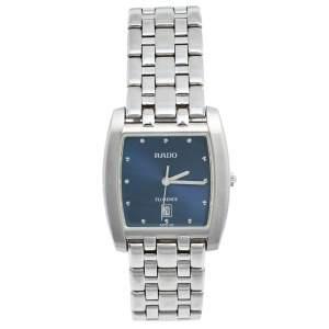 ساعة يد رجالية رادو فلورينس 152.3724.4 ستانلس ستيل زرقاء 30 مم