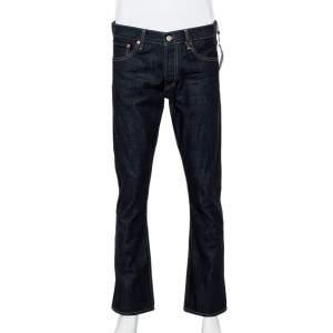 Ralph Lauren Navy Blue Denim Straight Fit Jeans M