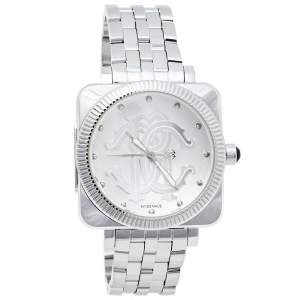 Roberto Cavalli Silver Stainless Steel Bohemienne R7253166015 Men's Wristwatch 41 mm