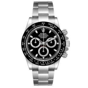 Rolex Black Stainless Steel Cosmograph Daytona 116500 Men's Wristwatch 40 MM