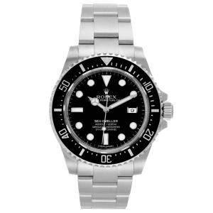Rolex Black Stainless Steel Seadweller 4000 116600 Men's Wristwatch 40 MM