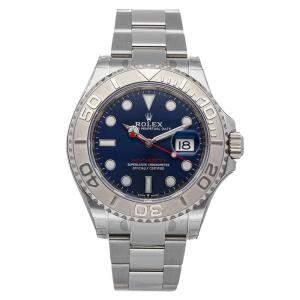 ساعة يد رجالية رولكس ياخت-ماستر 126622 ستانلس ستيل زرقاء 40 مم