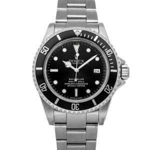 Rolex Black Stainless Steel Sea-Dweller 4000 16600 Men's Wristwatch 40 MM