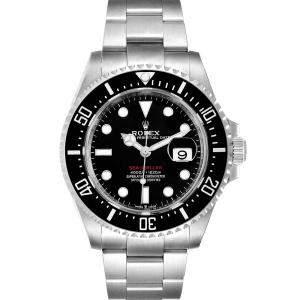 """ساعة يد رجالية رولكس سيدويلير الذكرى السنوية ال50 126600"""" ستانلس ستيل سوداء 43 مم"""