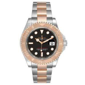 Rolex Brown 18K Rose Gold And Stainless Steel Yachtmaster 126621 Men's Wristwatch 40 MM
