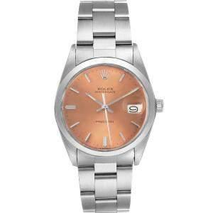 Rolex Bronze Stainless Steel OysterDate Precision 6694 Men's Wristwatch 35MM