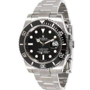 Rolex Black Stainless Steel Submariner 116610LN Men's Wristwatch 40 MM