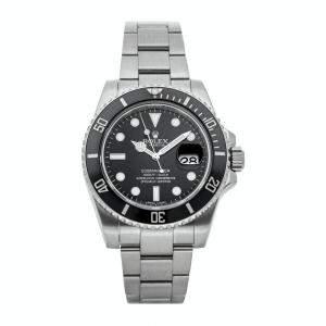 Rolex Black Stainless Steel Submariner Date 116610LN Men's Wristwatch 40 MM