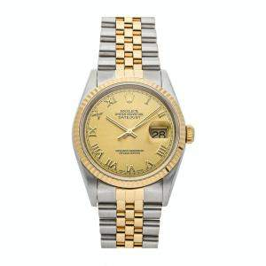 Rolex Datejust 16233 Stainless steel Men's Wristwatch 36MM