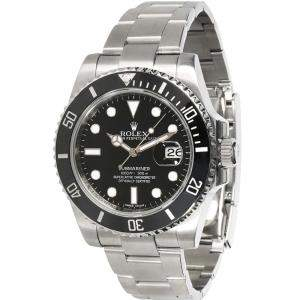 Rolex Black Stainless Steel Submariner 116610LN Automatic Men's Wristwatch 40 MM