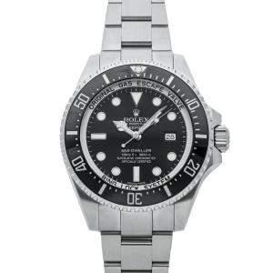 Rolex Black Stainless Steel Sea-Dweller Deepsea 116660 Men's Wristwatch 44 MM