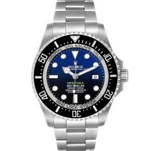 Rolex Blue Stainless Steel Seadweller Deepsea Cameron D-Blue 126660 Men's Wristwatch 44 MM