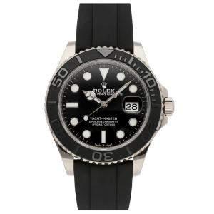 Rolex Black 18K White Gold Yacht-Master 226659 Men's Wristwatch 42 MM