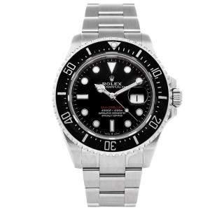 Rolex Black Stainless Steel Sea-Dweller 4000 126600 Men's Wristwatch 43 MM