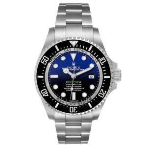 Rolex Black Stainless Steel Seadweller Deepsea 116660 Men's Wristwatch 44 MM