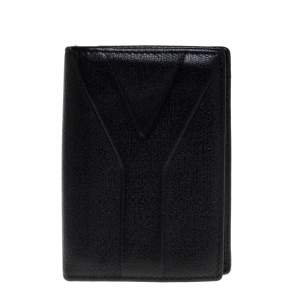 Saint Laurent Black Leather Bifold Wallet