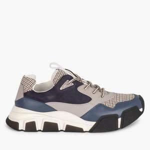 Salvatore Ferragamo Multicolor Leather Booster Sneakers Size EU 37