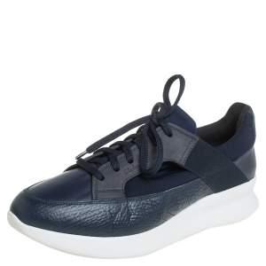 حذاء رياضى سالفاتورى فيراغامو دو جلد وشبك  أزرق مقاس 41.5