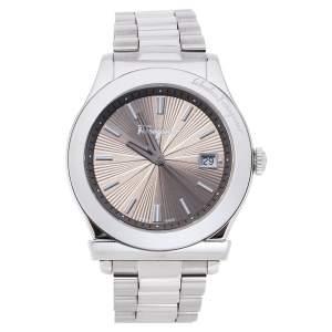 Salvatore Ferragamo Brown Stainless Steel 1898 FF3050013 Men's Wristwatch 40 MM
