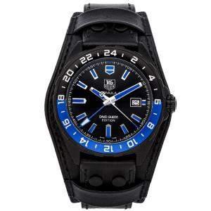 Tag Heuer Black Titanium Formula 1 David Guetta Edition WAZ201A.FC8195 Men's Wristwatch 43 MM