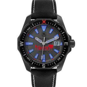 Tag Heuer Grey Titanium Aquaracer Calibre 5 Special Edition WAY218C Men's Wristwatch 43 MM