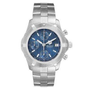 Tag Heuer Blue Stainless Steel Automatic 200 Meters CN2112 Men's Wristwatch 39 MM