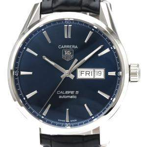 Tag Heuer Blue Stainless Steel Carrera Automatic WAR201E Men's Wristwatch 41 MM