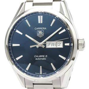 Tag Heuer Blue Stainless Steel Carrera WAR201E Automatic Men's Wristwatch 41 MM