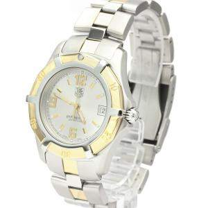 Tag Heuer Silver Gold Plated And Stainless Steel Exclusive WN1153 Quartz Men's Wristwatch 39 MM