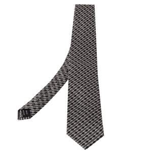 Tom Ford Monochrome Silk Jacquard Classic  Tie
