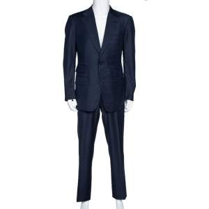 Tom Ford Navy Blue Wool Tailored Suit XL