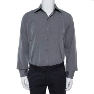 Tom Ford Grey Formal Shirt XL