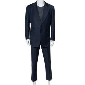 Tom Ford Midnight Blue Wool Suit 3XL