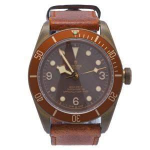 Tudor Bronze Heritage Black Bay Automatic Men's Wristwatch 43MM