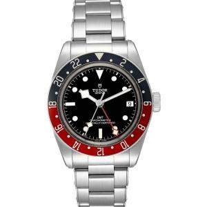 Tudor Black Stainless Steel Heritage 79830RB Men's Wristwatch 41 MM