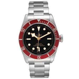 ساعة يد رجالية تودر هيريتاج بلاك باي 79230 ستانلس ستيل سوداء 41 مم
