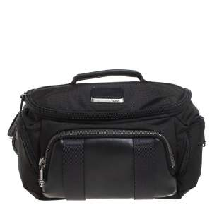 TUMI Black Nylon and Leather Newport Utility Belt Pouch