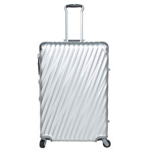 TUMI Metallic Grey 19 Degrees Aluminum Extended Trip Packing Case