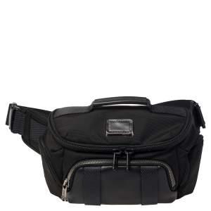 Tumi Black Nylon and Leather Newport Utility Belt Pouch