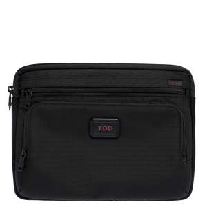 Tumi Black Nylon and Neoprene Laptop Case
