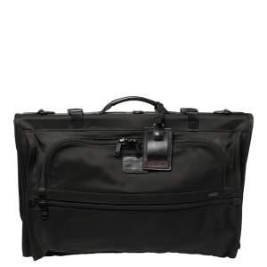 حقيبة سفر تومي ثلاثية الطي غارميت لاغج نايلون سوداء