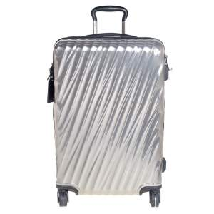 TUMI Sliver Polycarbonate 19 Degree International Carry On Luggage