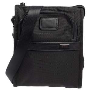 حقيبة تومي جيب ماسنجر ألفا 2 نايلون سوداء