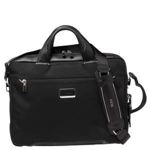 TUMI Black Nylon Laptop Bag