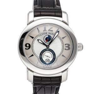 Ulysse Nardin Silver Palladium Macho 278-70/609 Men's Wristwatch 43 x 40.5 MM
